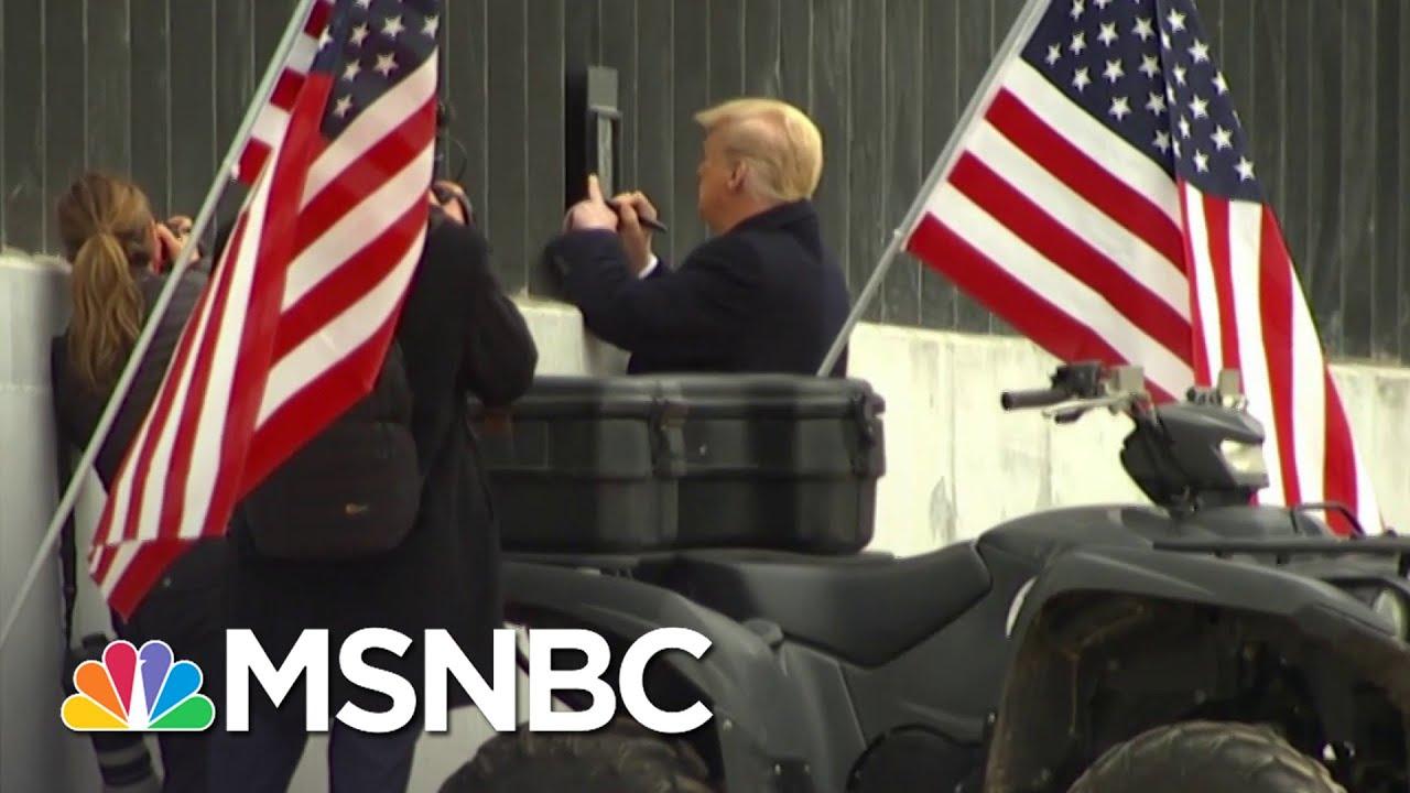 Trump Signs Texas Border Wall   Ayman Mohyeldin   MSNBC 1