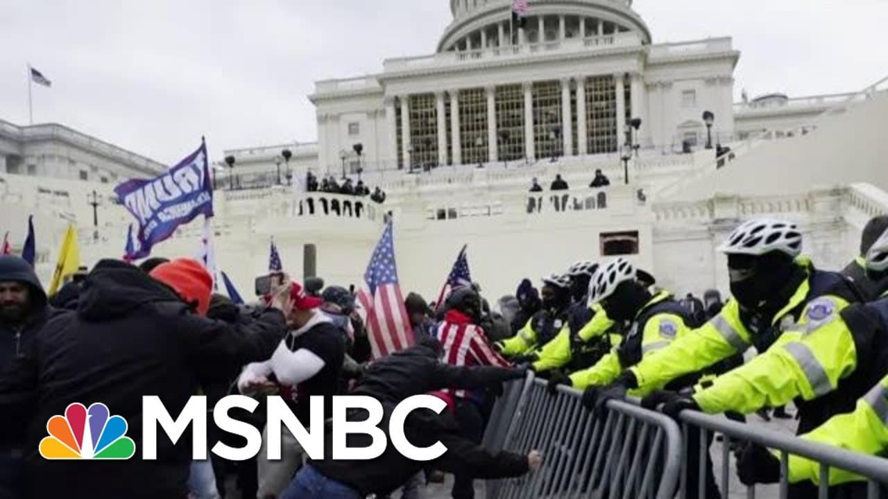 New Damning Video Evidence Shows MAGA Criminal Insurrection | The Beat With Ari Melber | MSNBC 1