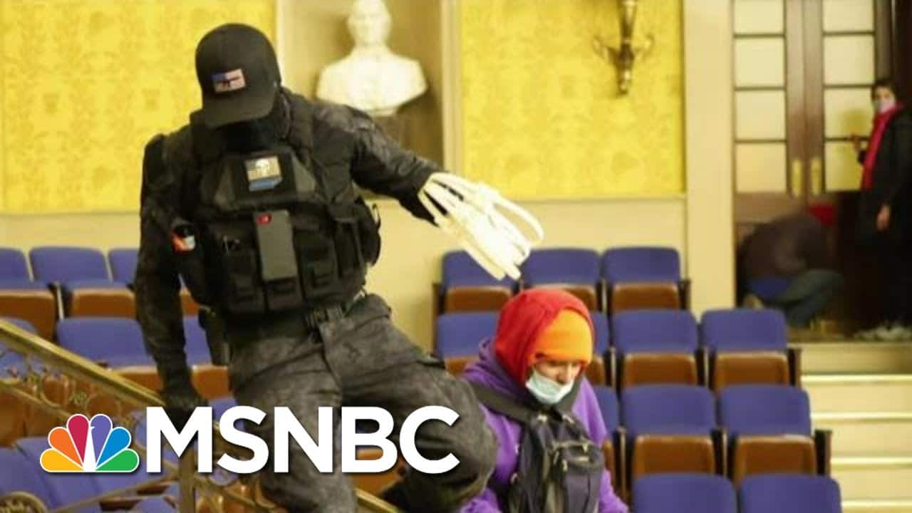 MAGA Riot Exposed: New Video Shows Criminal Conspiracy At Capitol   The Beat With Ari Melber   MSNBC 1