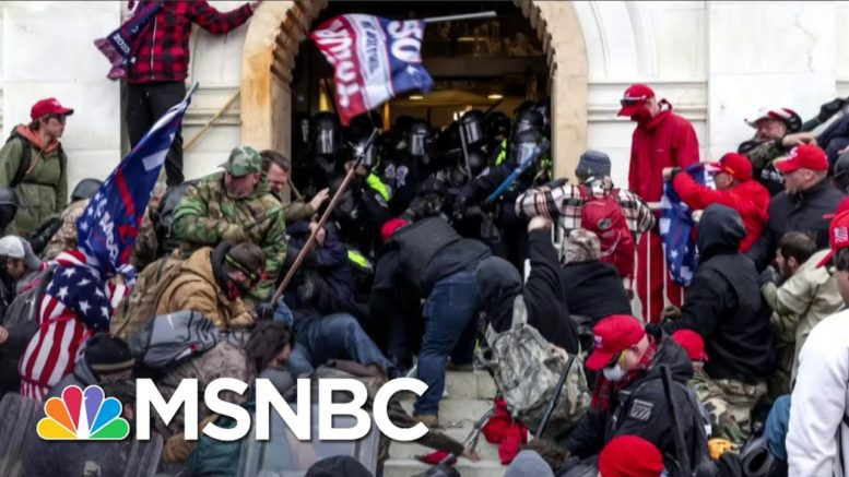 Rep. McGovern: Capitol Rioters Had 'Hate In Their Eyes' | All In | MSNBC 1
