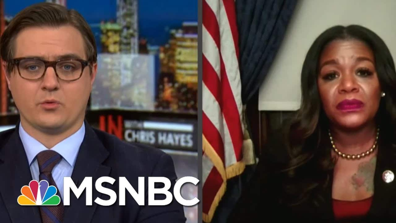 Rep. Bush To GOP Reps Who Protested Metal Detectors: Find Another Job   All In   MSNBC 1