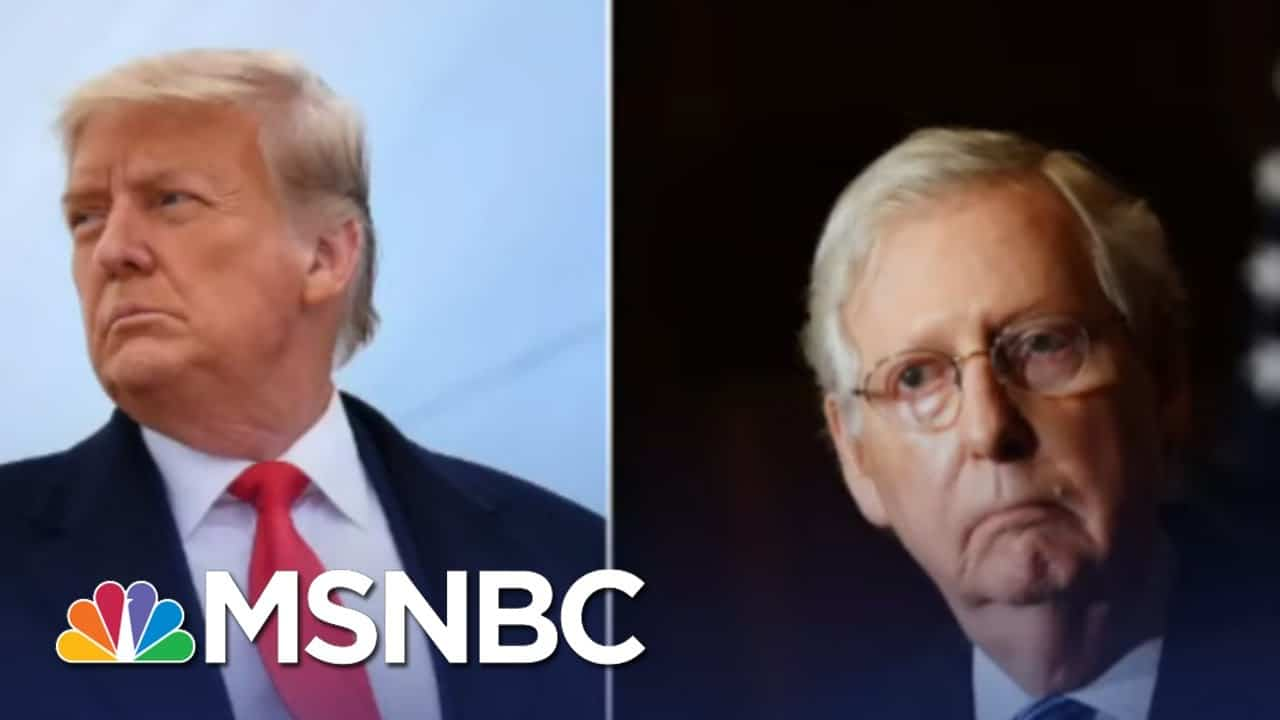 Axios: McConnell Leans Toward Convicting Trump   The Last Word   MSNBC 1