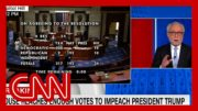 See moment Trump got impeached for second time 2