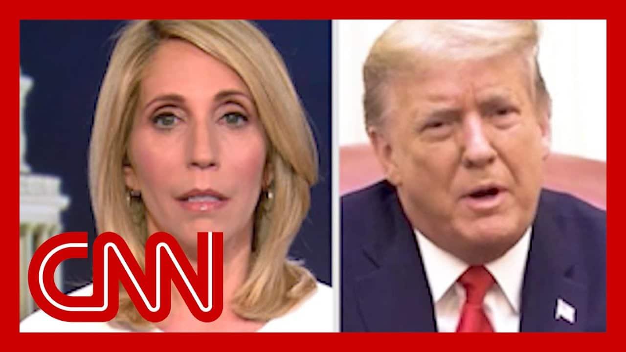 'Give me a large break here!' CNN's Dana Bash lambasts new Trump video 8