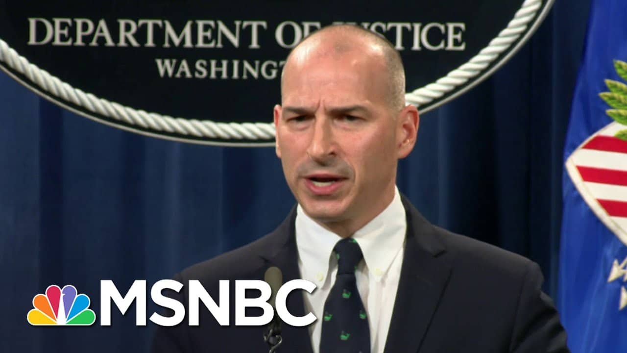 Federal Prosecutor Suggests Public Officials Being Looked At In Trump Riot Investigations   MSNBC 1