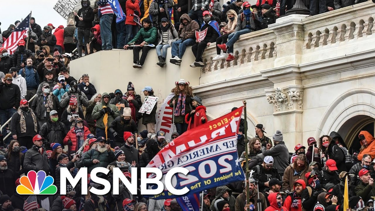 Military Chiefs Use Key Term To Characterize Trump Mob Attack   Rachel Maddow   MSNBC 1
