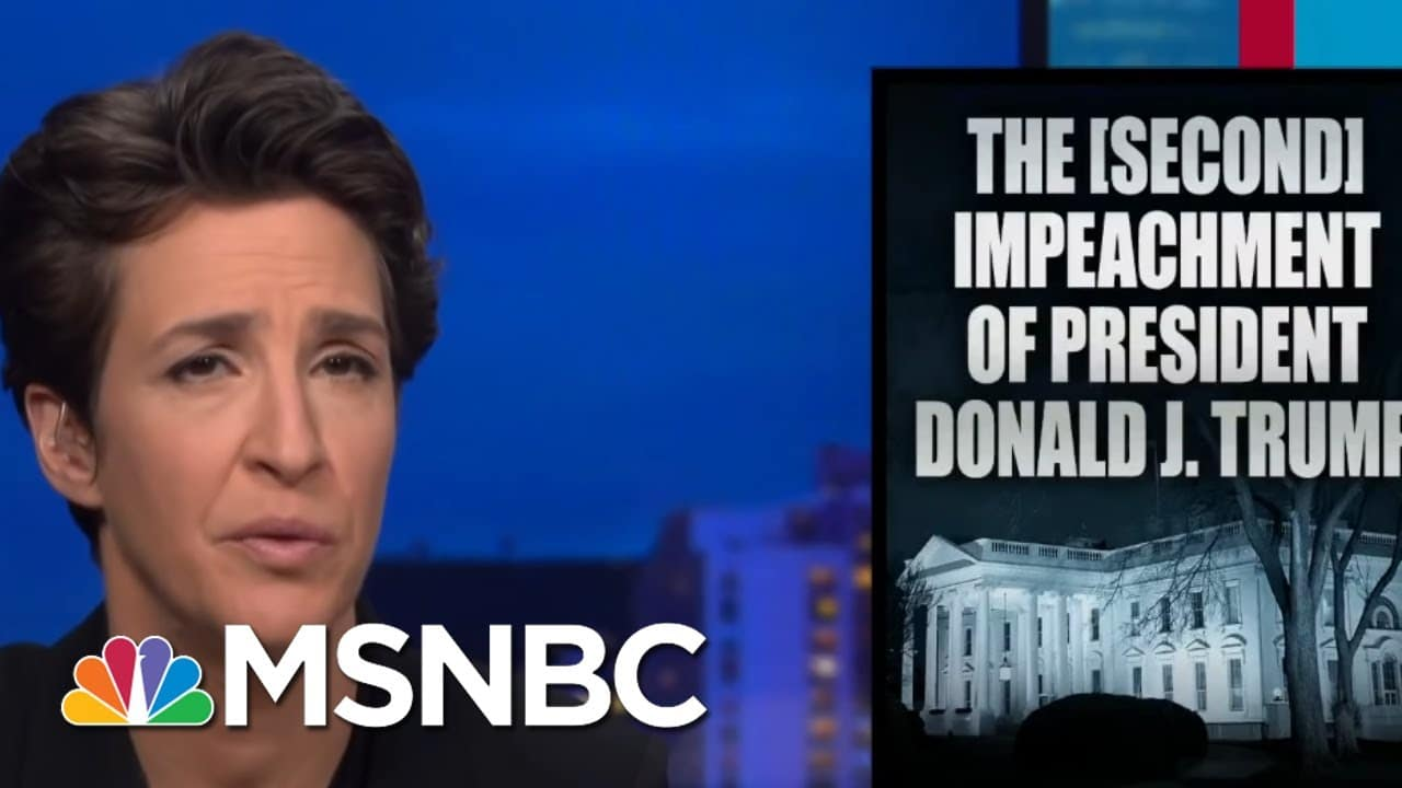 """Maddow To Trump: """"What Did You Think Was Going To Happen?"""" 