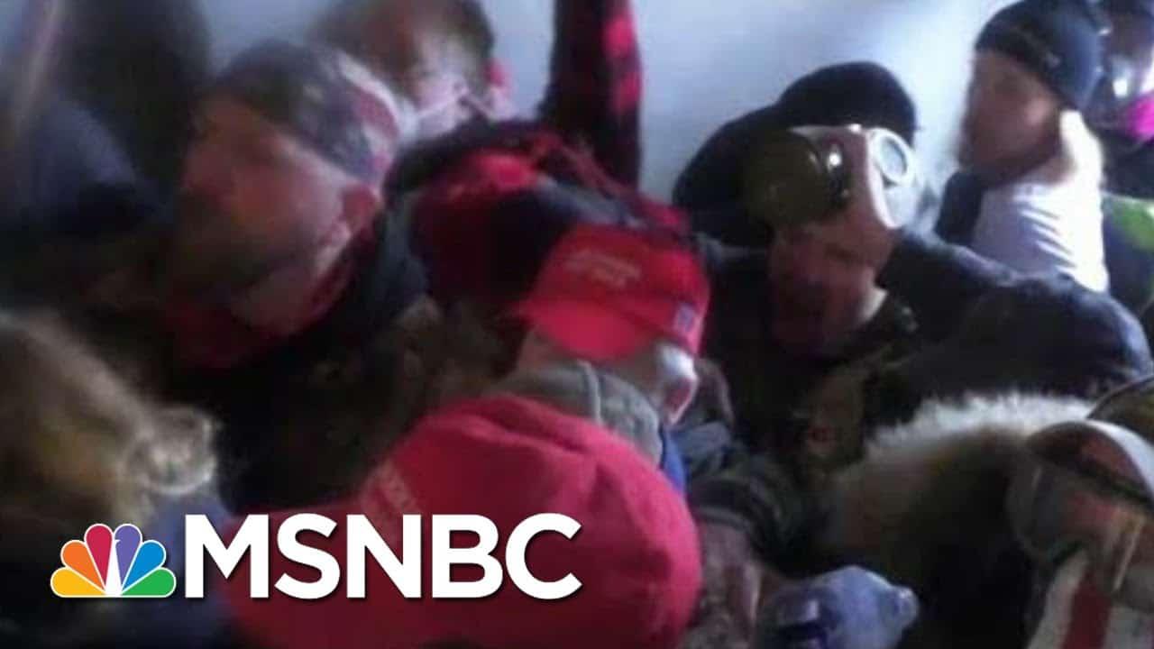 Trump Takes No Responsibility For Riot At U.S. Capitol   Morning Joe   MSNBC 8