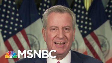 De Blasio: City Of New York Severing All Contracts With Trump Organization | Morning Joe | MSNBC 6