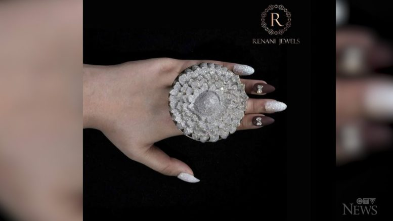 Diamond ring sets new Guinness World Record 1