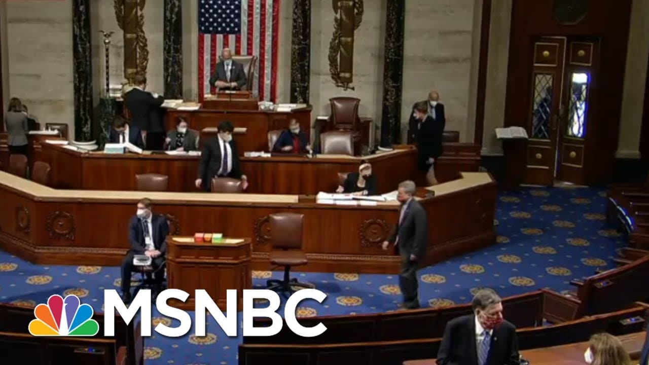 Chuck: House GOP Giving Up Time Shows How Much They 'Don't Have To Say' On Impeachment | MTP Daily 9