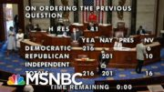 'No Coordinated Strategy' To Defend Trump's Actions As He Faces His Second Impeachment | MSNBC 5