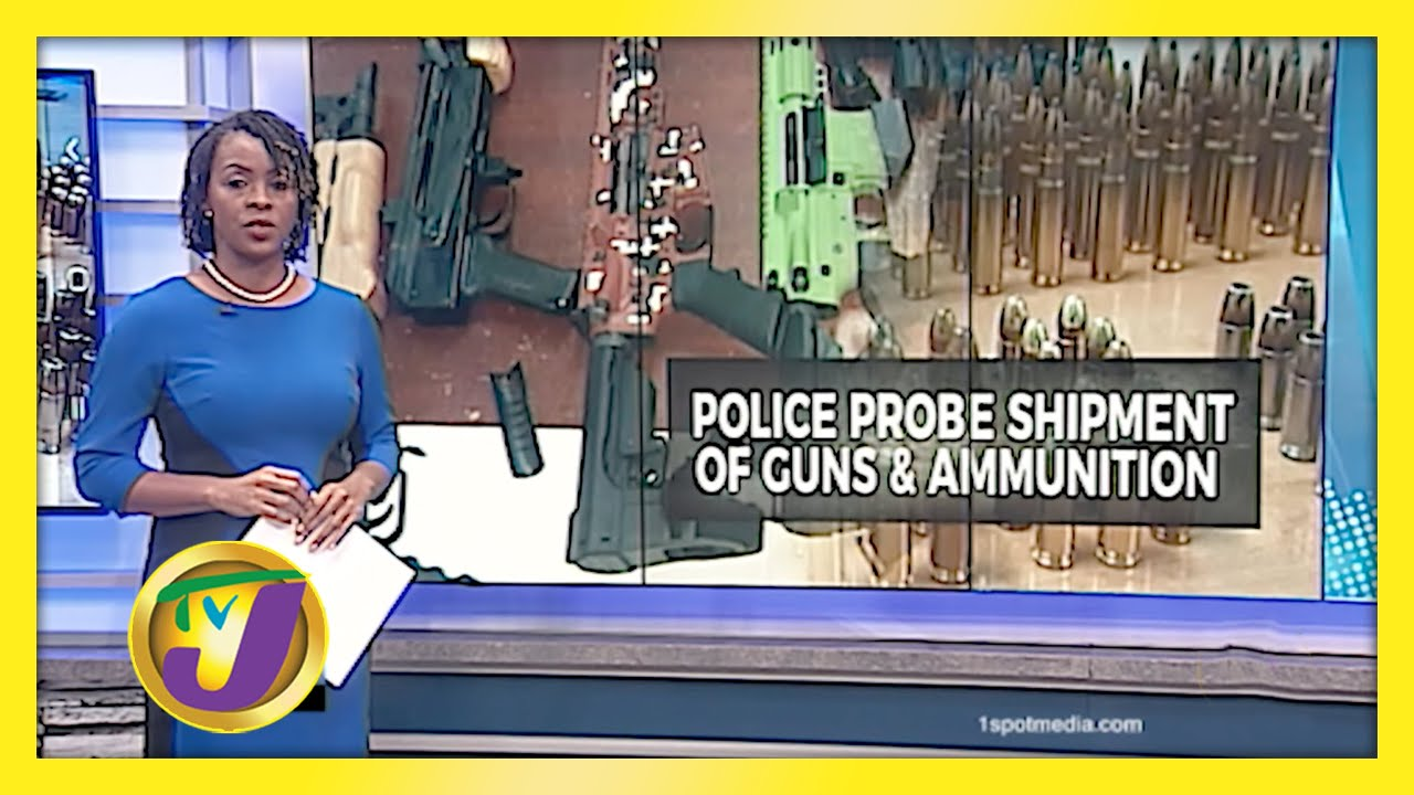 Police Probing Major Gun Find at St. James Port - January 12 2021 1