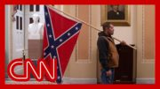Man with Confederate flag in Capitol identified and arrested 5