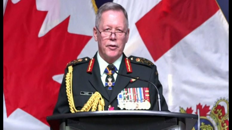 Gen. Jonathan Vance's final speech as commander of Canada's military 1