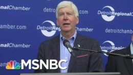 Former Michigan Gov. Rick Snyder Pleads Not Guilty To Charges In Flint Water Crisis | Hallie Jackson 7