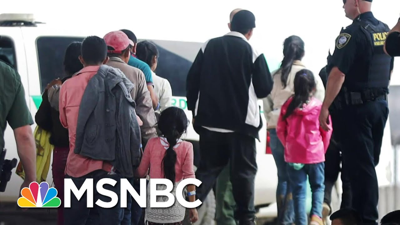 DOJ Official Blames Trump Administration For Separation Policy At Border | Andrea Mitchell | MSNBC 8