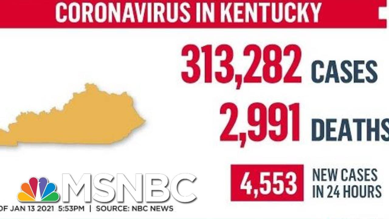 Gov. Andy Beshear: Coronavirus Mutation 'May Have Gotten To Kentucky' | MTP Daily | MSNBC 1