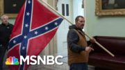 Man Who Carried Confederate Flag In Capitol Has Turned Himself In | Ayman Mohyeldin | MSNBC 3