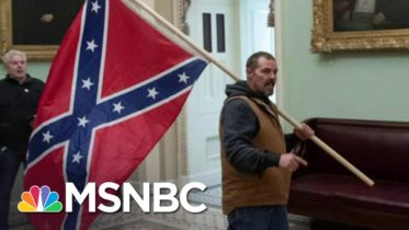 Man Who Carried Confederate Flag In Capitol Has Turned Himself In | Ayman Mohyeldin | MSNBC 6
