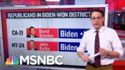 Steve Kornacki Examines Districts Of House Republicans Who Voted To Impeach | Ayman Mohyeldin 2