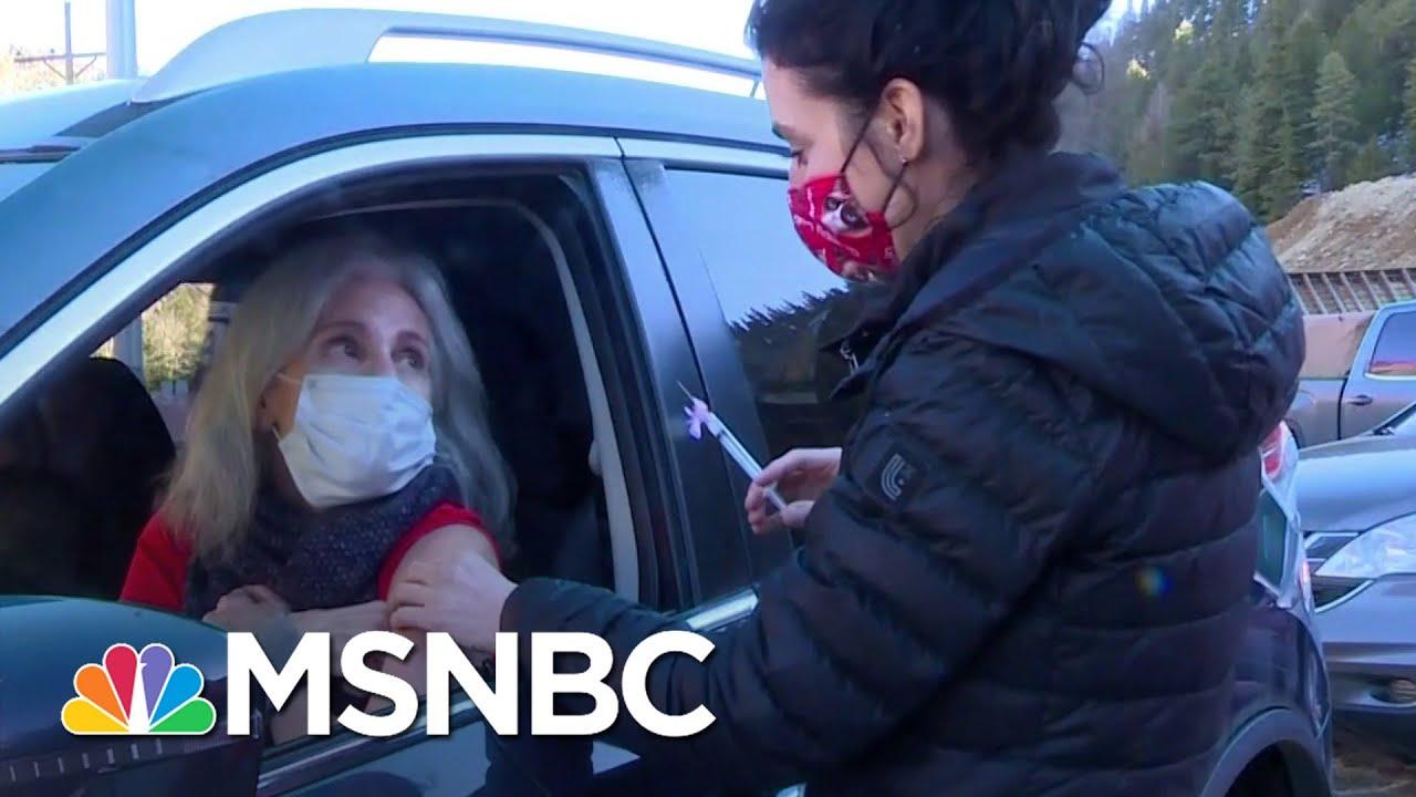 Dr. Irwin Redlener, Austan Goolsbee On What Americans Need In Biden's Relief Plan   Katy Tur   MSNBC 1