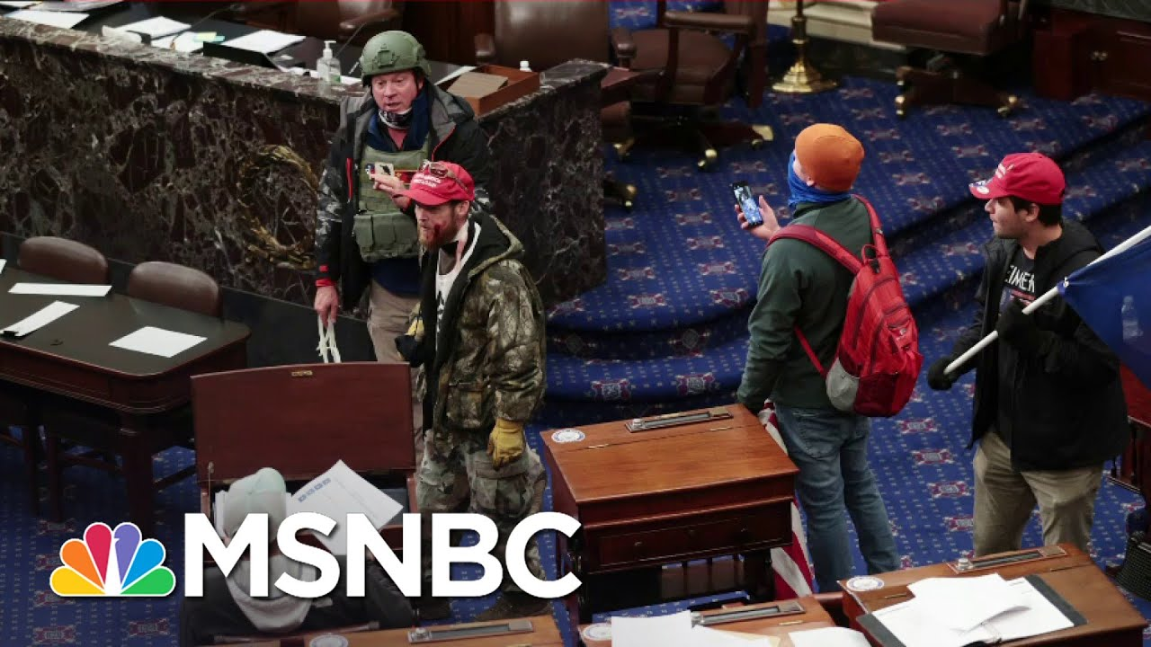 Report: Some Democrats In Congress Are Worried Their Colleagues Might Kill Them   All In   MSNBC 1