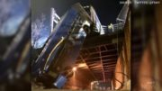 NYC bus dangles precariously from overpass after crash 4