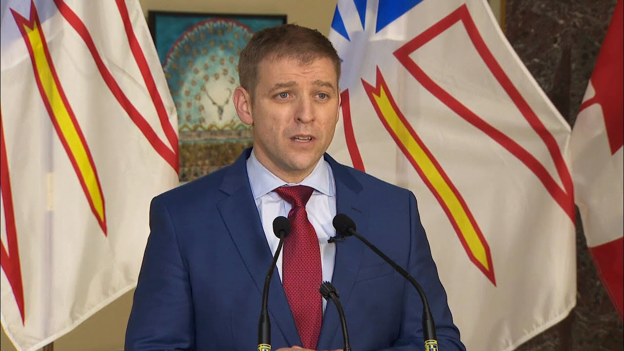 Newfoundland and Labrador Liberals calls provincial election on Feb. 13 seeking a majority 1