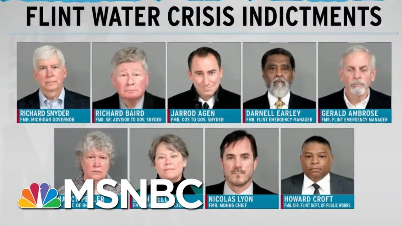 Years Later, Michigan Officials Are Made To Answer For Flint Water Crisis | Rachel Maddow | MSNBC 1