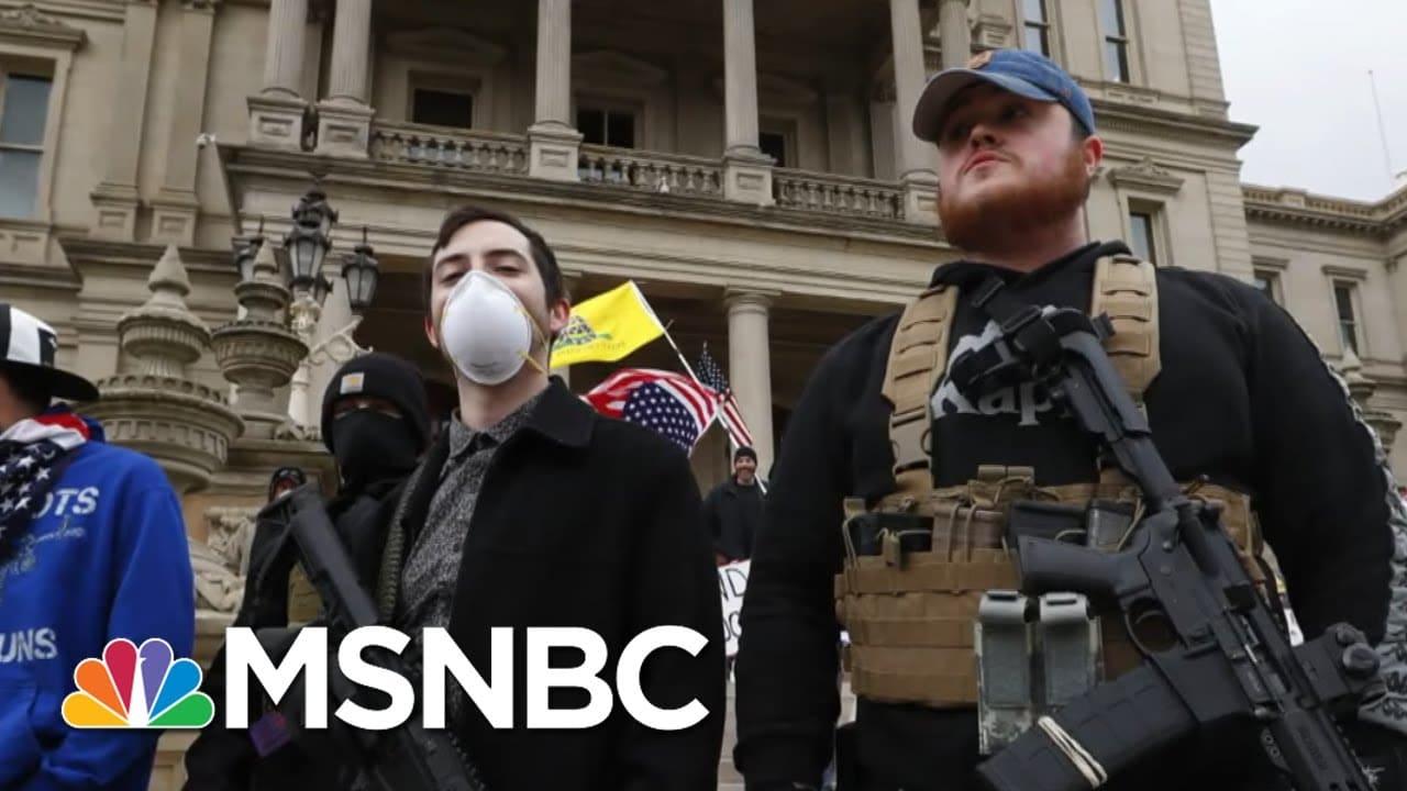 Microcosm Of Republican Rejection Of Democracy Seen In Michigan | Rachel Maddow | MSNBC 1