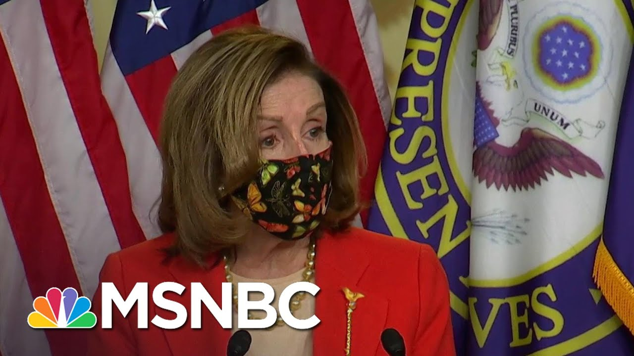 Pelosi Announces Retired Lt. Gen. Honoré Will Lead Review Of Capitol Security | MSNBC 9