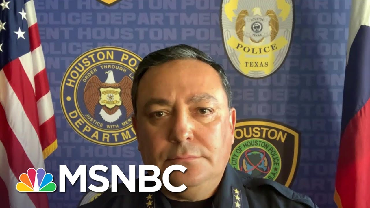 Art Acevedo: If You Think Storming The Capitol Was Appropriate Then You Don't Need To Wear The Badge 1
