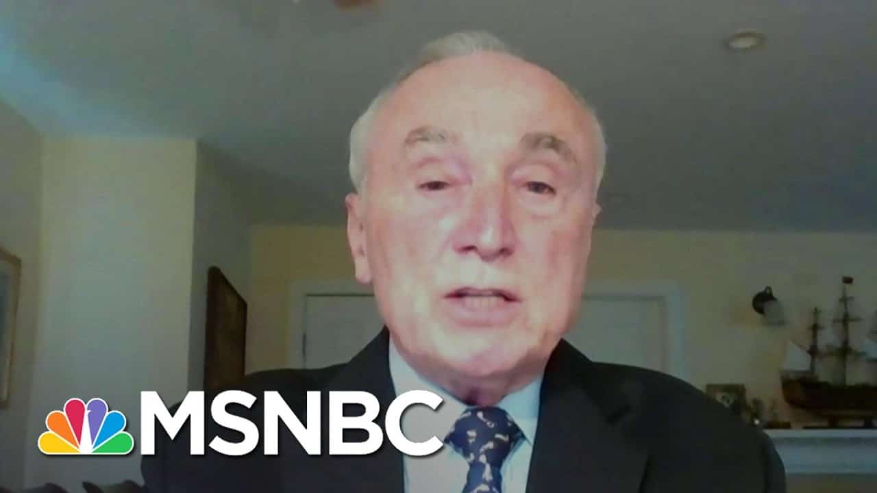 Commissioner Bratton On Capitol Attack: 'It's Very Disheartening' | Stephanie Ruhle | MSNBC 1
