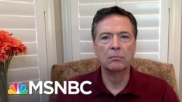 Comey: 'Horrific Failure' To Protect Capitol Hill | Andrea Mitchell | MSNBC 1