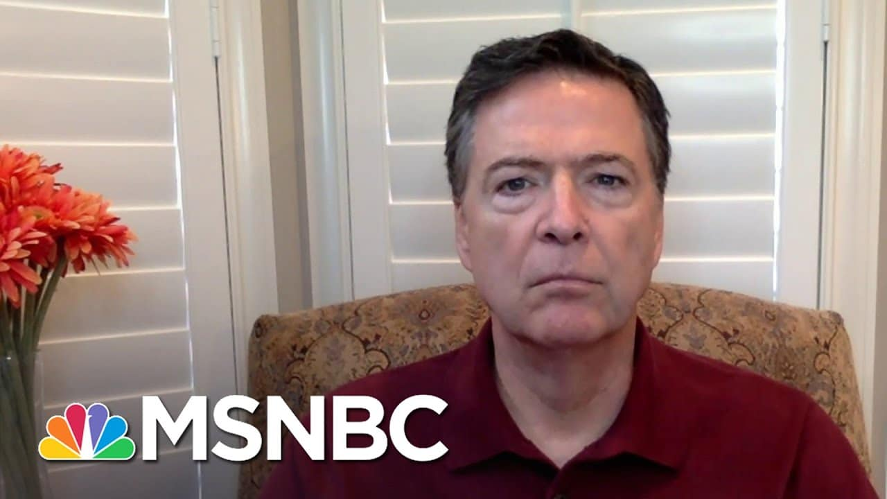Comey: 'Horrific Failure' To Protect Capitol Hill | Andrea Mitchell | MSNBC 8
