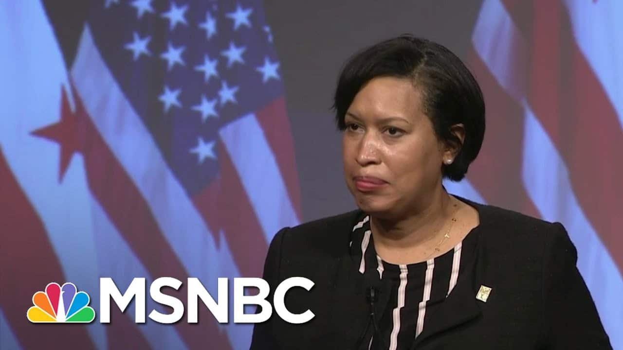 D.C. Mayor Bowser On City Security, Ongoing Threats: 'Inauguration Is Not The Only Target' | MSNBC 9
