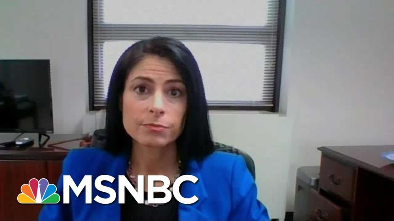 Michigan AG: 'Have To Do Better To Protect The Seat Of Government' In The State | MTP Daily | MSNBC 4
