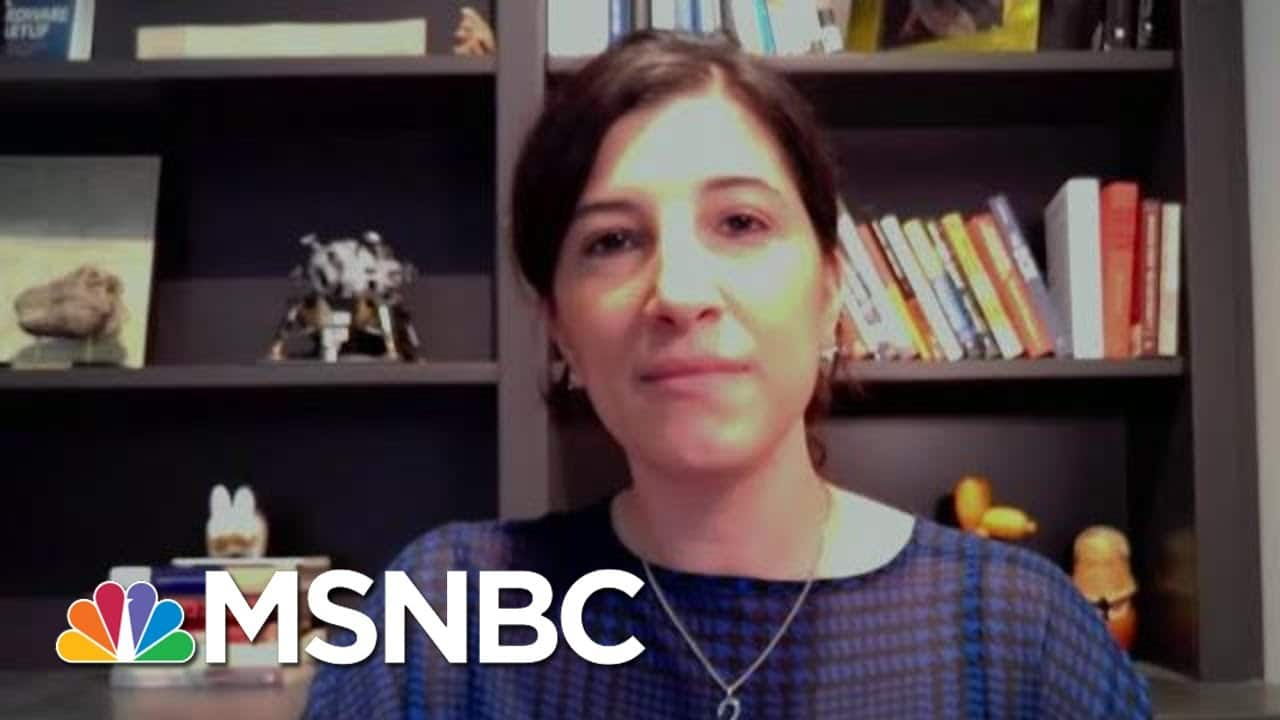 How Sustained Online Falsehoods Helped Fuel The January 6 Capitol Attack   MTP Daily   MSNBC 1
