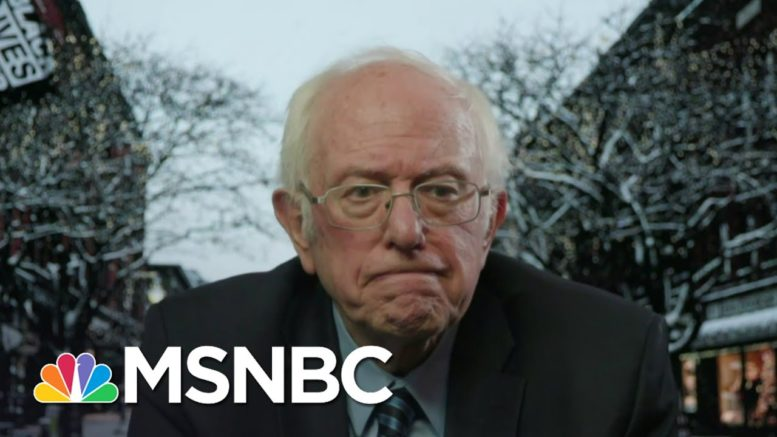 Sen. Sanders: President's Call 'Impeachable, A Criminal Offense' | Andrea Mitchell | MSNBC 1