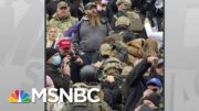 Signs Of Military Training Among Rioting Trump Mob Raise Concerns About Capability | Rachel Maddow 3