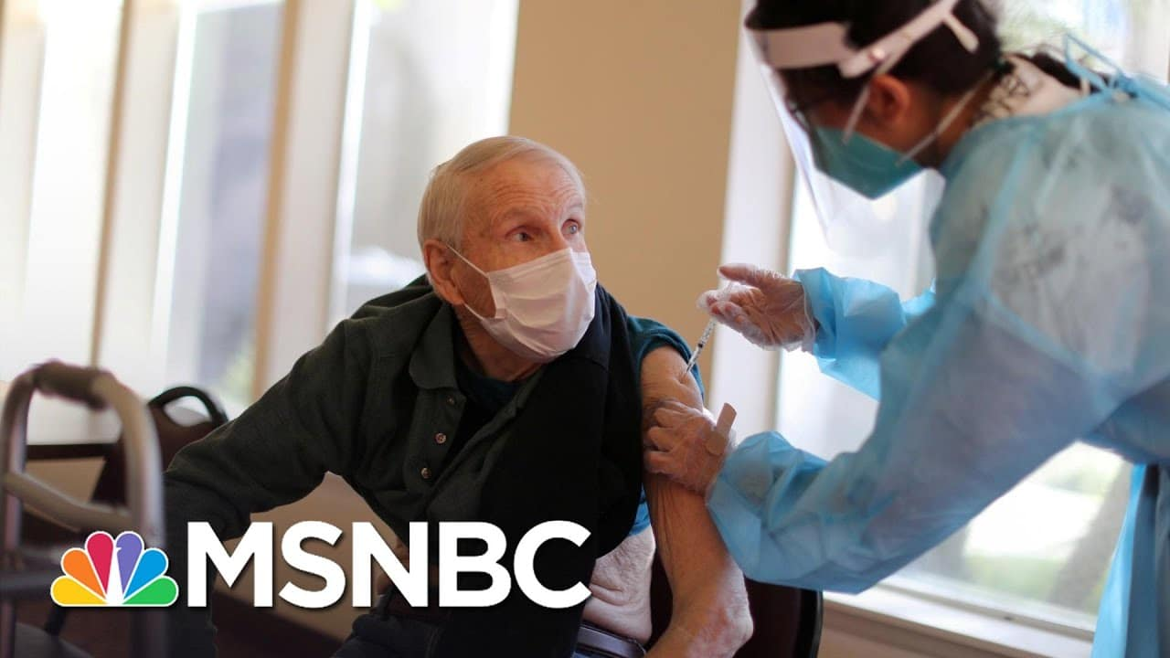Governors Outraged By More Trump Admin Vaccine Supply Lies; Biden Unveils New Plan | Rachel Maddow 4