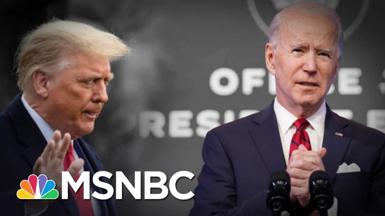 Trump Leaves Biden With Security Threats And A Huge Pandemic   The 11th Hour   MSNBC 1