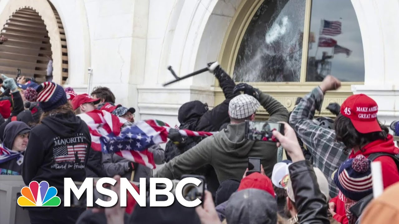 The Washington Post Reports 13 Police Officers Suspected Of Role In Riots   MSNBC 1