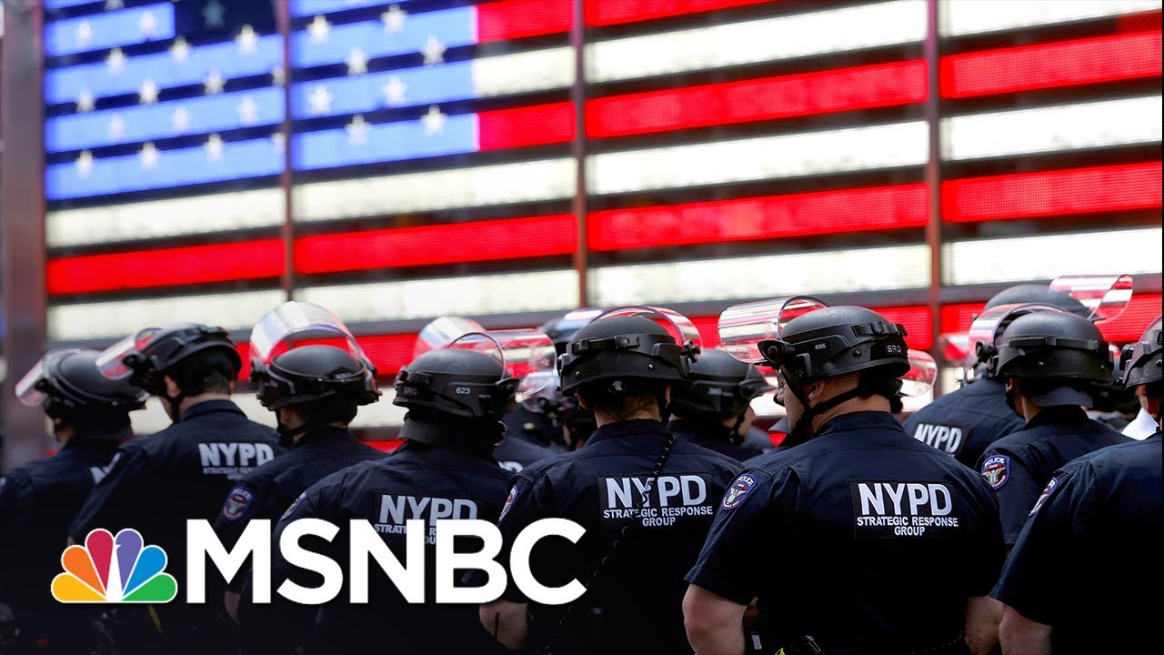 NY AG James On Her Lawsuit Against NYPD: This Behavior Has Gone Unchecked   MSNBC 1