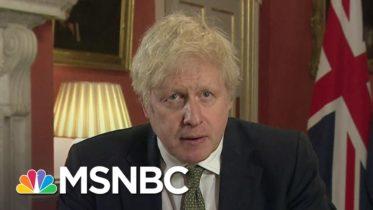 U.K. Prime Minister Boris Johnson Announces National Lockdown In England | Ayman Mohyeldin | MSNBC 6