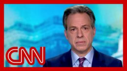 Tapper: I wish I saw evidence these people had a conscience 1