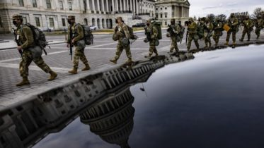 Reinforced security in Washington ahead of inauguration 6