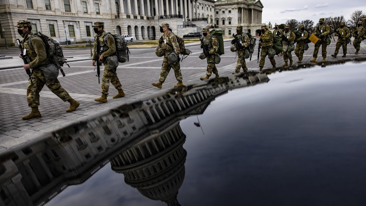 Reinforced security in Washington ahead of inauguration 1