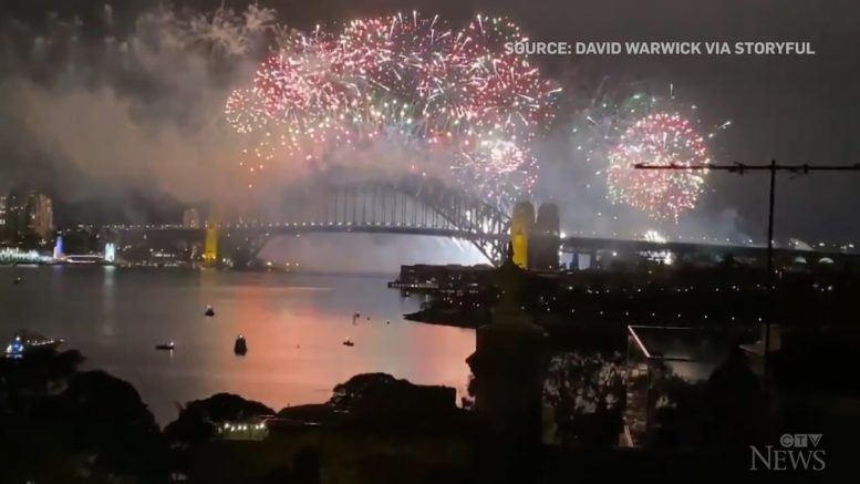 A look at how the world welcomed 2021 1